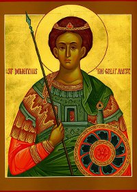 St. Demetrios The myrrh-bearing.