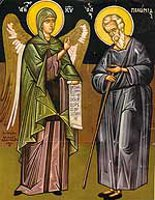 Conversation   between Abba Macarios and an Angel of the Lord