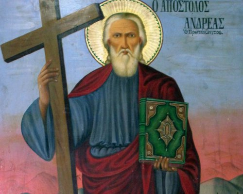 The Feastday of Saint Andrew the Apostle and First called
