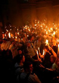 Truyly amazing miracle Holy Fire 2015