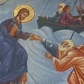 9th Sunday of Matthew (Jesus walks on the waters)