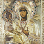 "Icon of the Mother of God ""Triherousa"" (Three Hands)"