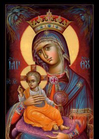 Contemplating the Virtue of the Theotokos