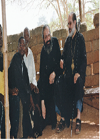 His-Eminence-Metropolitan-Panteleimon-of-Antinoes-with-Fr.-Epifanios-Hadjiyangkou-in-a-village-of-Ghana-W.-Africa.1