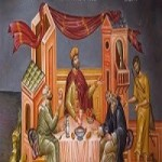The Parable of the Rich Man and the poor Lazarus. 5th Sunday of St. Luke
