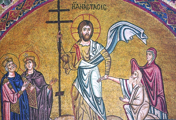 Noble souls are initiated into the joy of the Resurrection