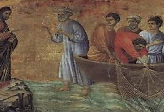 First Sunday of Luke 'The miracle of the fish'