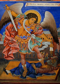 """""""Wherever the grace of the Archangels overshadows, thence the devil is banished"""""""